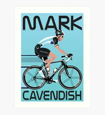 Mark Cavendish Art Print