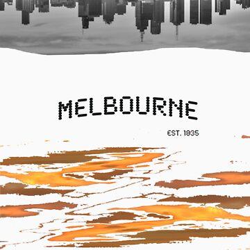 Melbourne, est 1835. by BrodieBiggs
