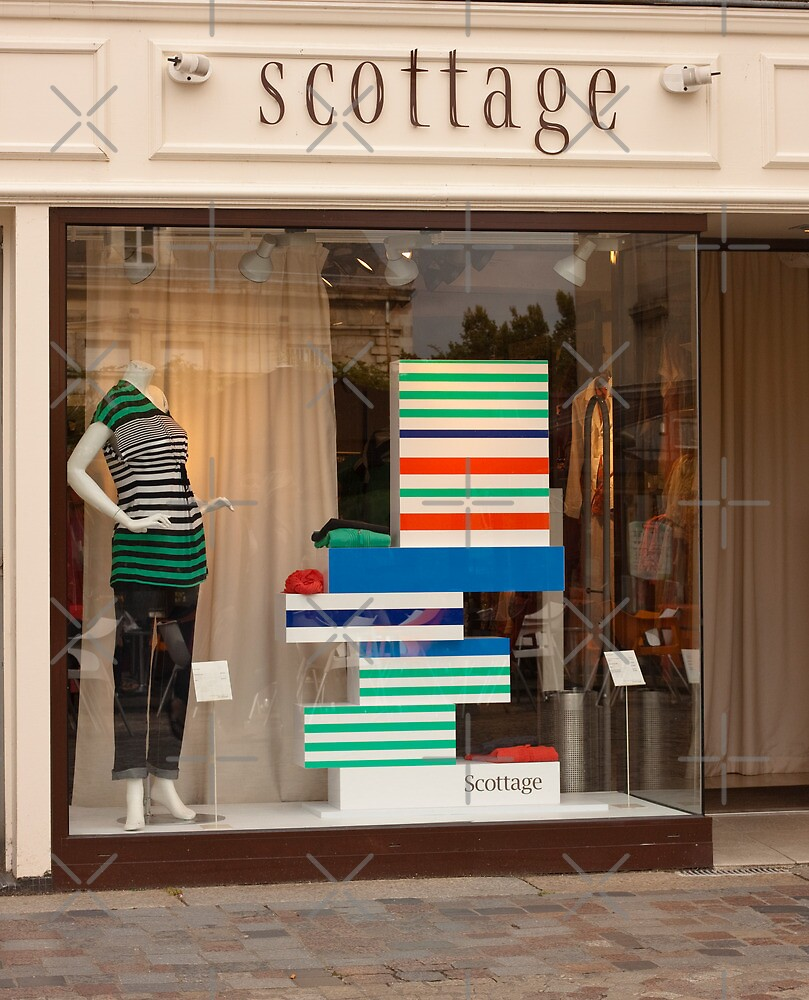 A la Mode - Clothing Store Redon Brittany France by Buckwhite