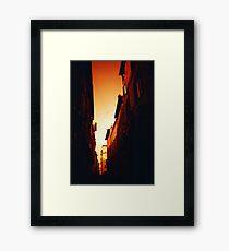 Blood Orange - Lomo  Framed Print