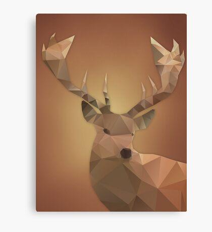Polygon Deer Canvas Print