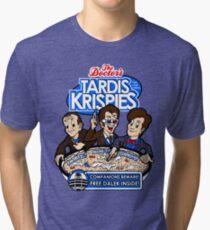 Tardis Krispies Tri-blend T-Shirt