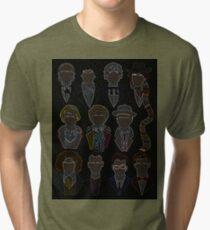 All 11 Doctors Tri-blend T-Shirt