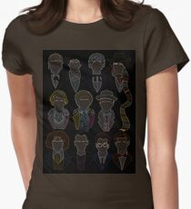 All 11 Doctors Womens Fitted T-Shirt