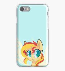 Sunset Pony iPhone Case/Skin