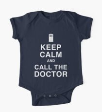 Keep Calm and Call the Doctor One Piece - Short Sleeve