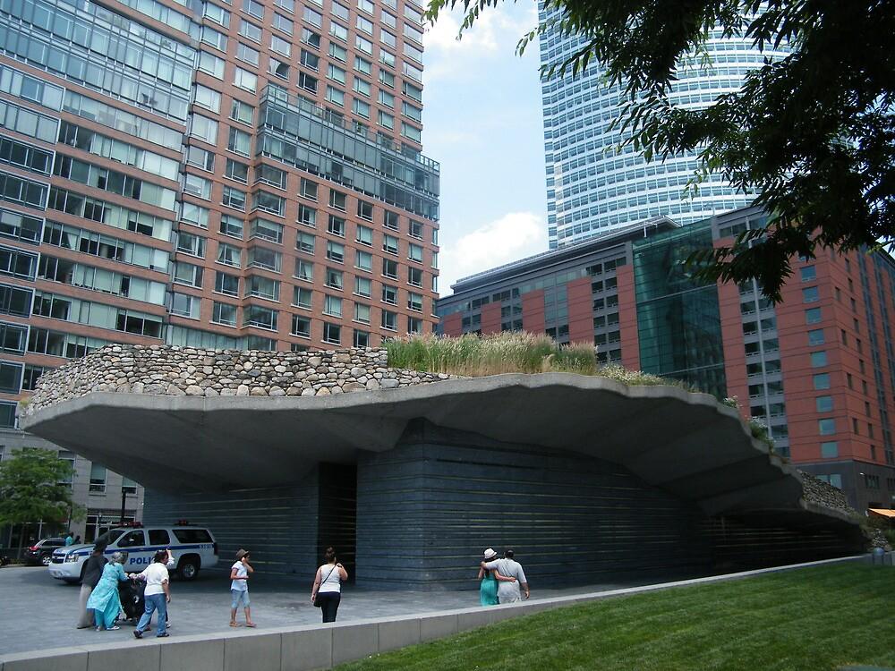 Irish Hunger Memorial, Lower Manhattan, Vesey Street, New York City by lenspiro