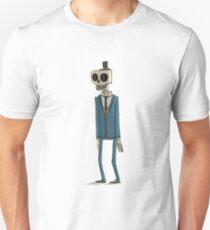 Skelly The Dapper Skeleton Unisex T-Shirt