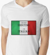 I'm ITALIAN Men's V-Neck T-Shirt