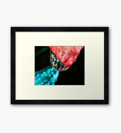 Love Travel Framed Print