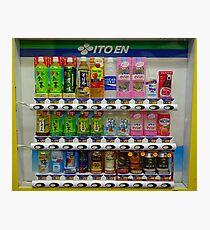 Ito En Vending Fotodruck