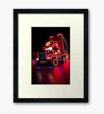 PTN Mack Framed Print