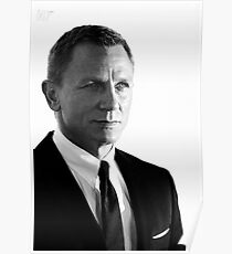 007 - Daniel Craig - James Bond - 2012 Poster
