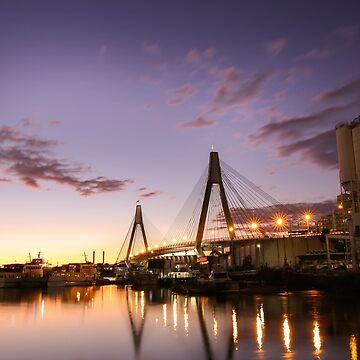Anzac Bridge - Sydney by skeeter