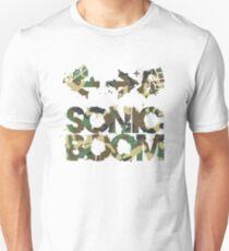 Sonic Boom Command - Camo Unisex T-Shirt