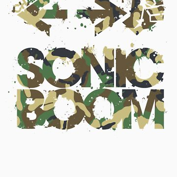 Sonic Boom Command - Camo by reshad80