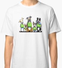 Think Adoption | Green Tee Shelter Dogs Classic T-Shirt