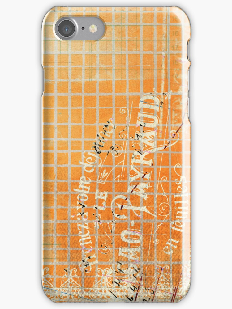 Vintage Tattered French Store Receipt by pjwuebker