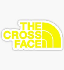 The Cross Face Sticker