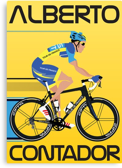 ALBERTO CONTADOR by Andy Scullion