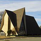 Strange Lutheran Church by WildestArt