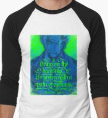 Pirate Hunter - quote Men's Baseball ¾ T-Shirt