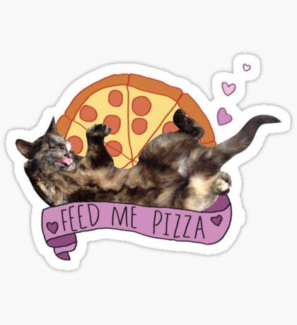 Pizza Cat Sticker