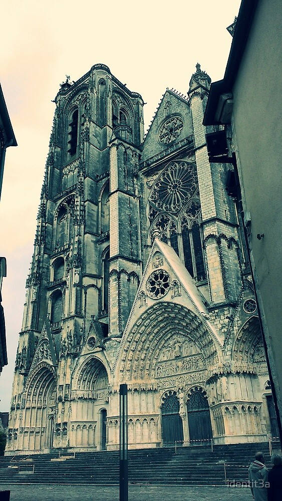 Bourges Cathedral by identit3a