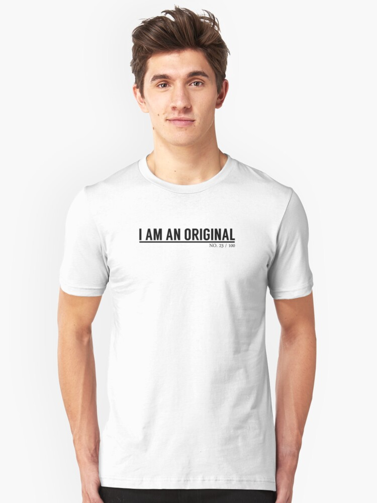 I Am An Original by ColorVandal