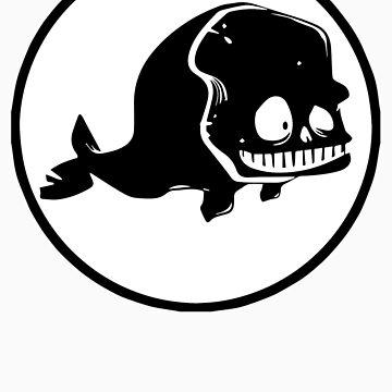 white whale logo by jonahbeard