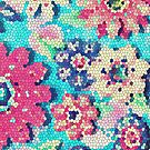 Retro flowers by SylviaCook