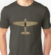 Mitsubishi A6M Zero (Vintage/Worn Look) T-Shirt