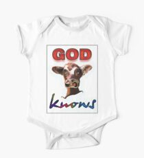 GOD KNOWS One Piece - Short Sleeve