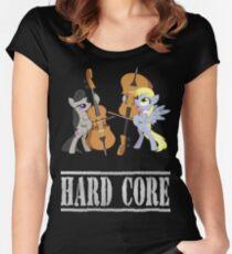 Contrebasse de Derpy Hooves.2 - My Little Pony - MLP:FIM Women's Fitted Scoop T-Shirt