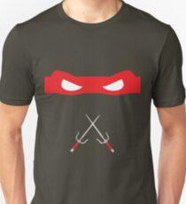 Red Ninja Turtles Raphael Unisex T-Shirt