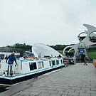 The Falkirk Wheel by Joel Gibson