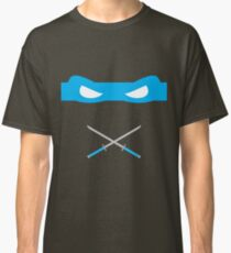 Blue Ninja Turtles Leonardo Classic T-Shirt