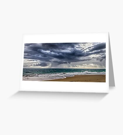 Preston Beach Greeting Card