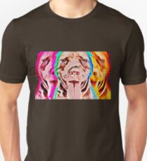 Pit Bull Pop Art Unisex T-Shirt