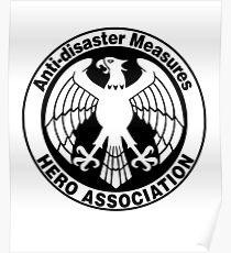 Hero Association Logo Poster