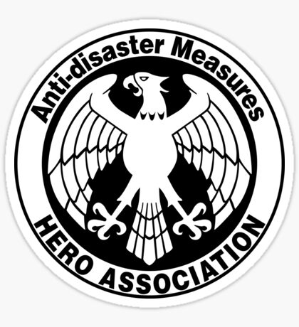 Hero Association Logo Sticker
