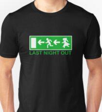 Bachelors last night out Unisex T-Shirt