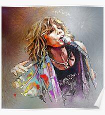 Steven Tyler 02  Aerosmith Poster
