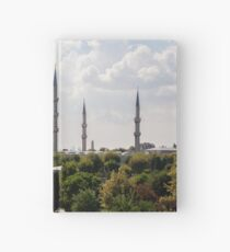 Blue Mosque by Day Hardcover Journal