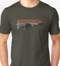 Vintage Look Curtis P-40 Warhawk Fighter Bomber Plane T-Shirt