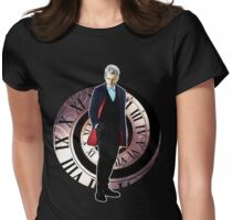 The 12th Doctor - Peter Capaldi Womens Fitted T-Shirt