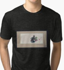 Oiran zu 001 Tri-blend T-Shirt