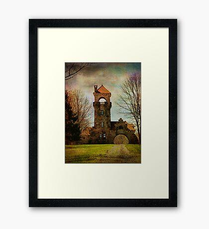 Mohonk NY Gatehouse Framed Print