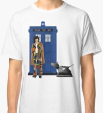 The Doctor and K-9 Classic T-Shirt