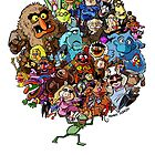 Muppets World of Friendship by Kenny Durkin